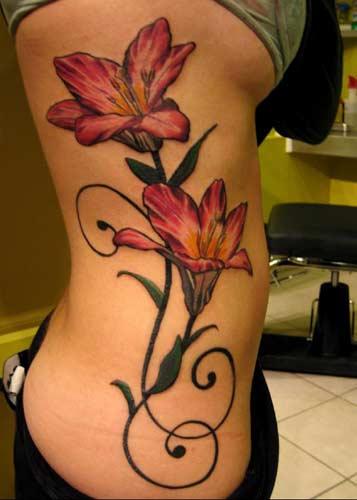 lily tattoos