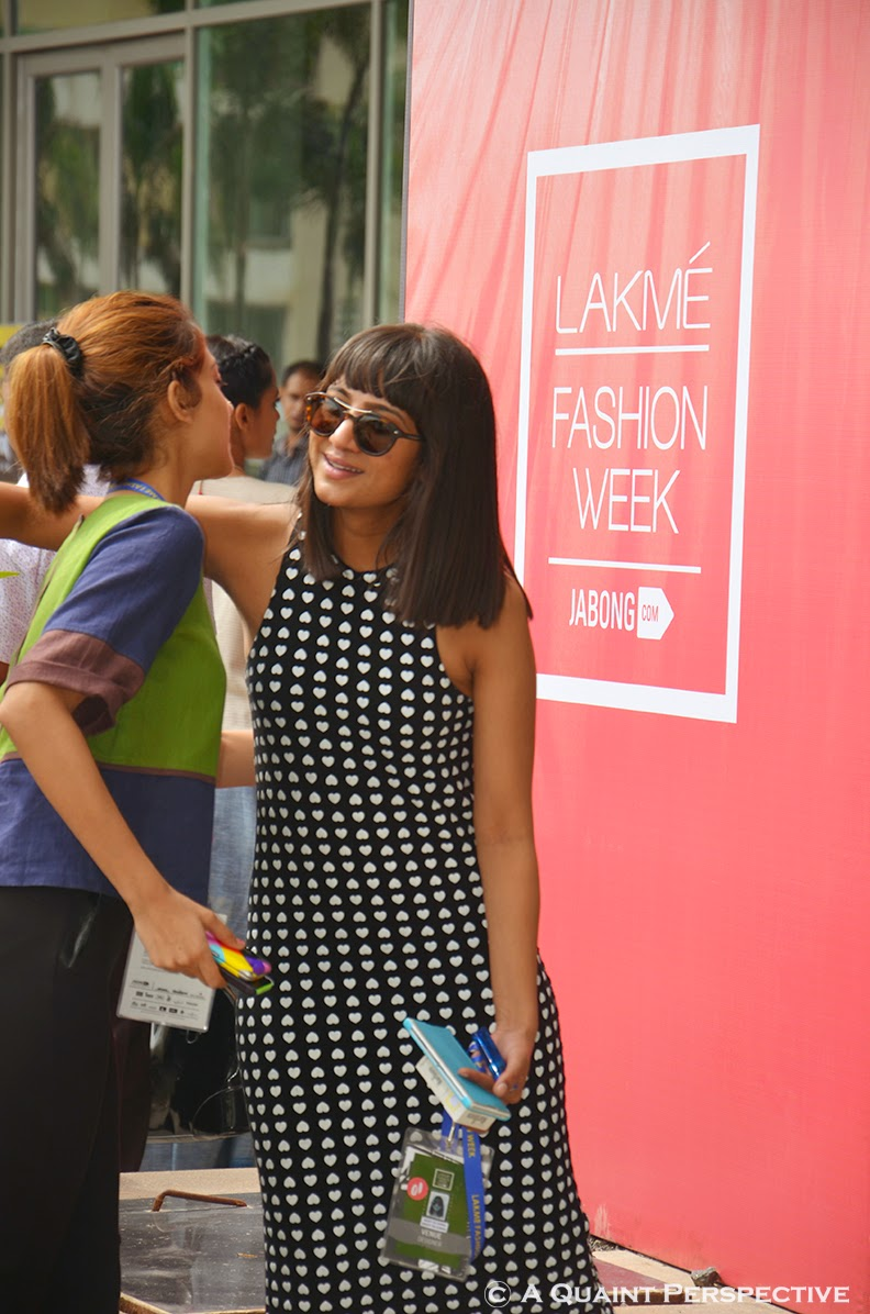 http://aquaintperspective.blogspot.in/, Photo Diary Lakme' Fashion Week