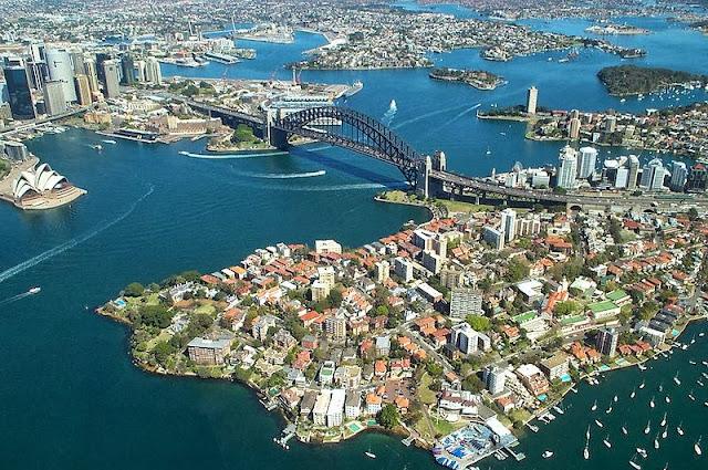 Panorámica de la ciudad de Sidney en Australia