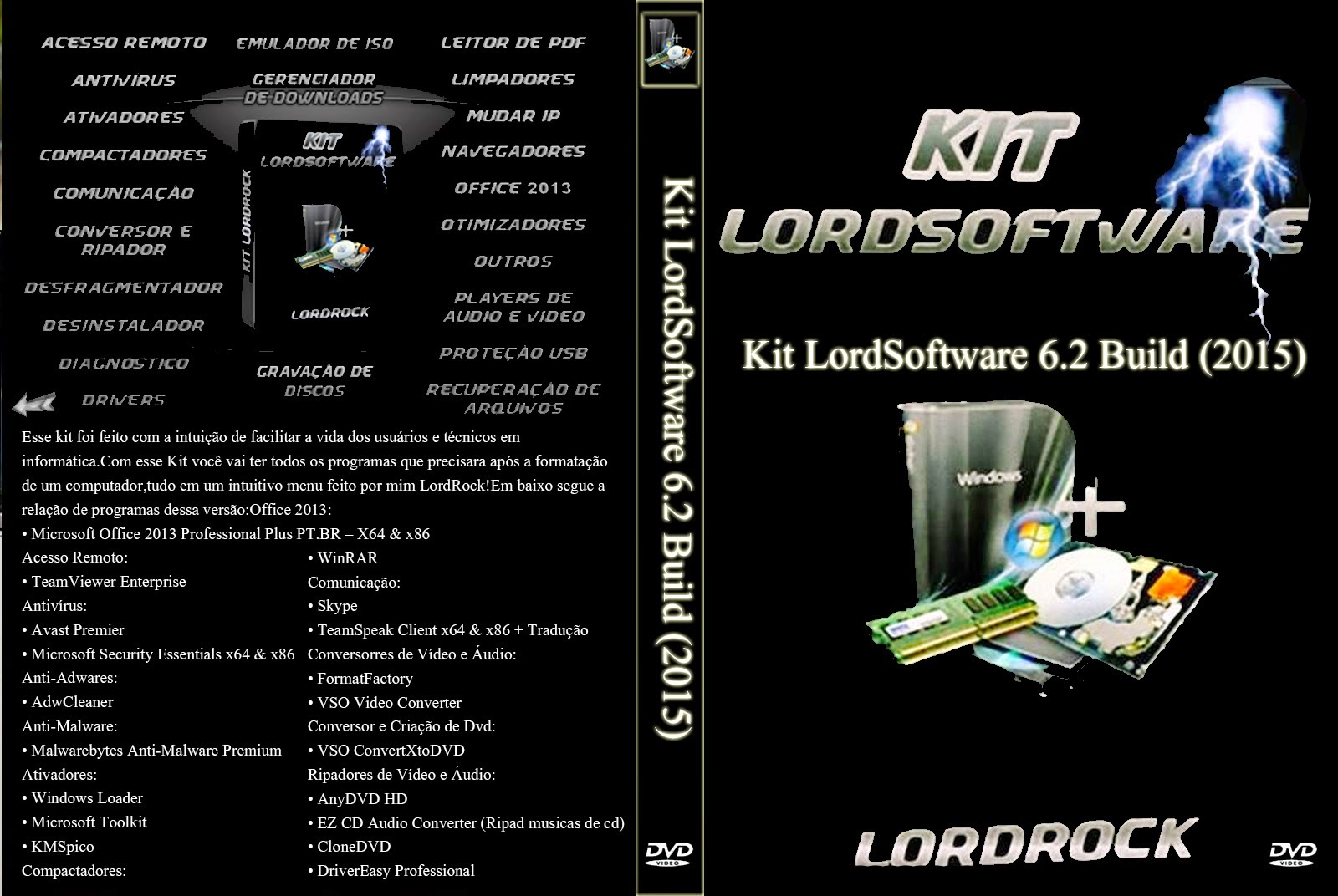 Download Kit LordSoftware 2015 7.1 Build 01.01.2015 Kit 2BLordSoftware