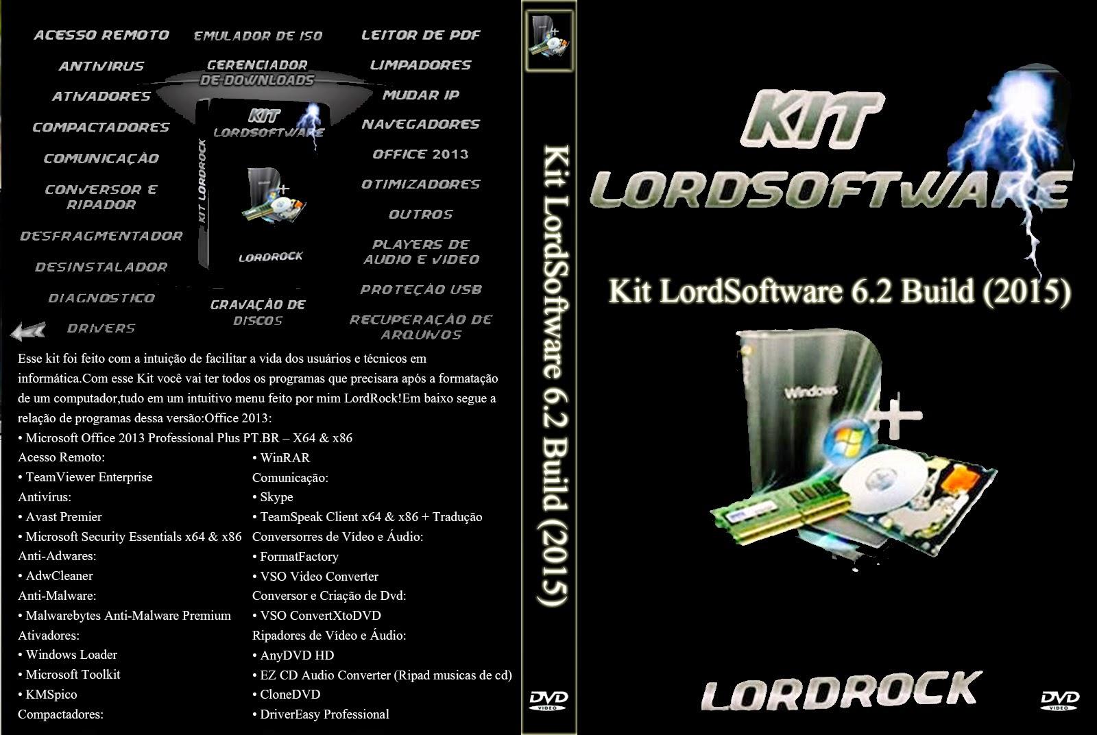Download Kit LordSoftware 2015 7.1 Build 01.01.2015
