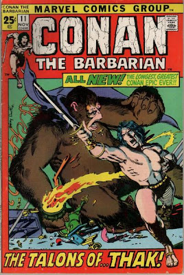 Conan the Barbarian #11, Barry Smith, Rogues in the House