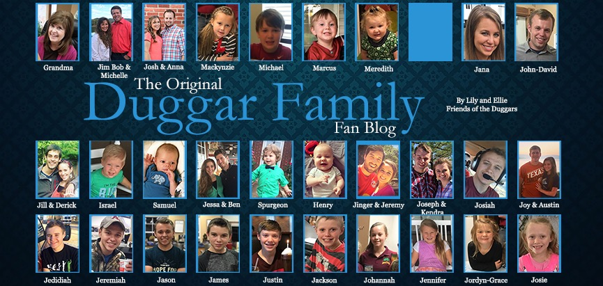duggar family blog updates pictures jim bob michelle