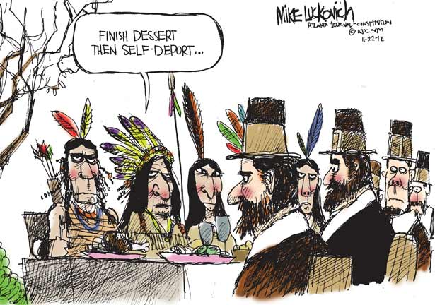 Self Deport cartoon