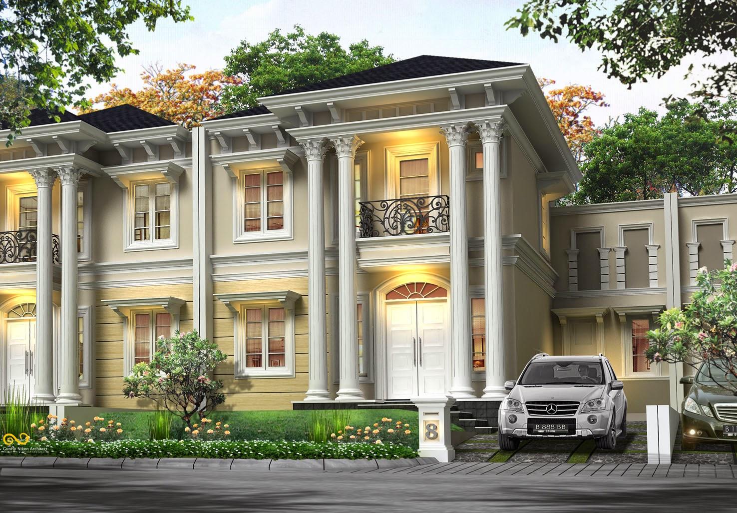 gambar rumah eropa klasik terbaru trend rumah gaya desain