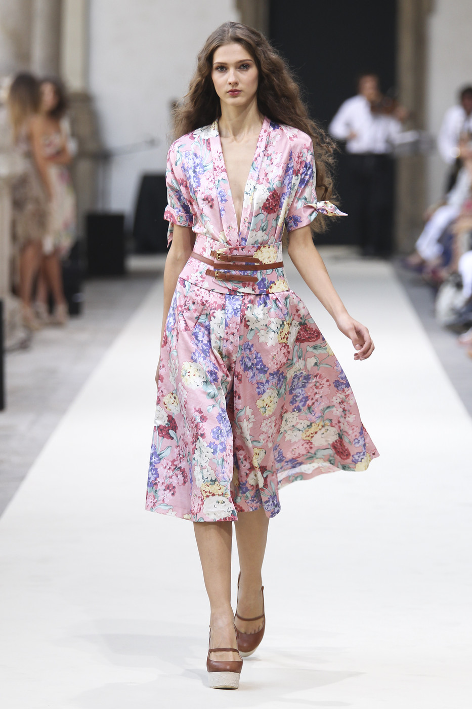 via fashioned by love | Louisa Beccaria Spring/Summer 2011 | floral trend