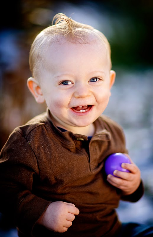Photo bébé garçon 12 mois