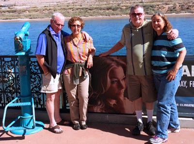 Clete, Barb, Opa and Oma in Laughlin, Nevada