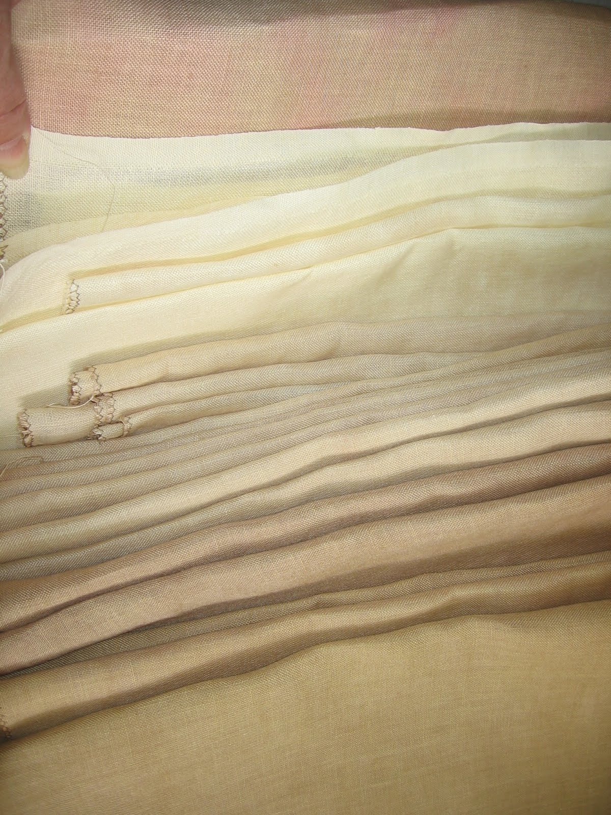 32ct hand dyed linen,by the yard
