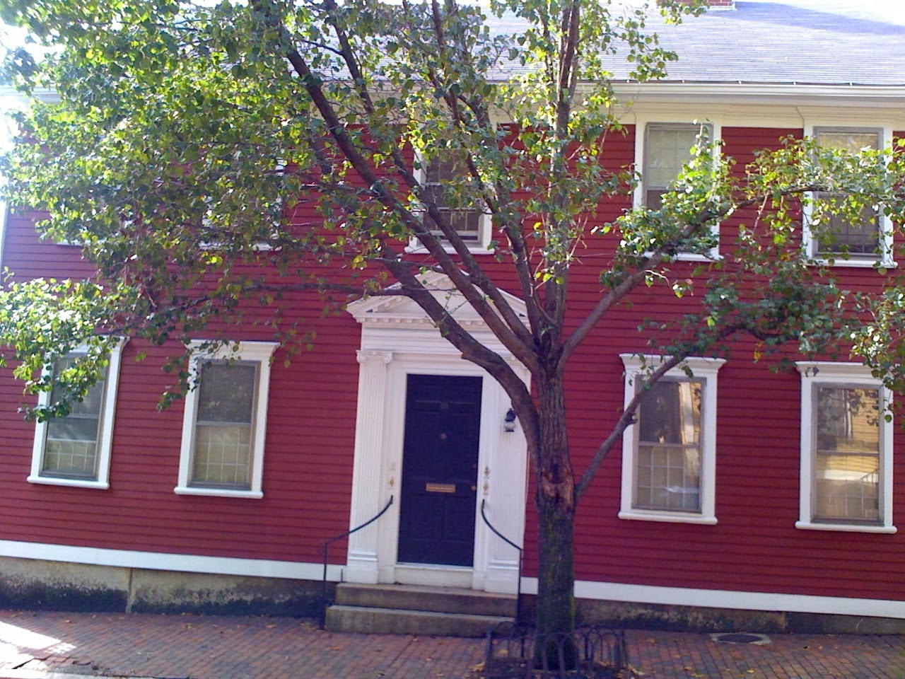 Sarah Helen Whitman House, Benefit St., Providence RI