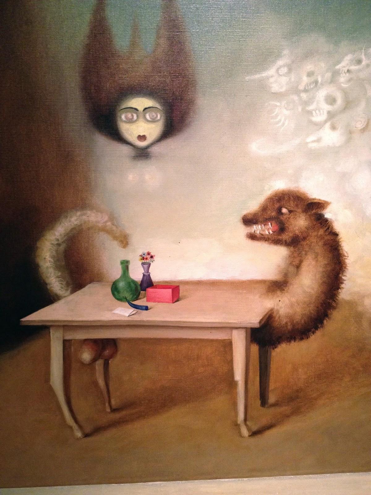 Wonderful victor brauner loup table 12 victor brauner surrealist painter tuttu0027art - Victor brauner loup table ...