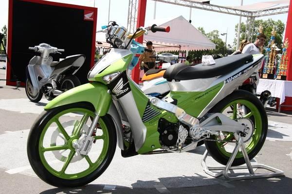 ide modifikasi motor honda supra fit 2006
