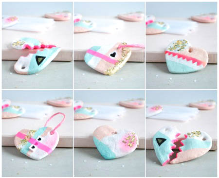 Passion shake diy cute handmade hearts for Handmade things step by step