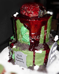 Jalen's Bloody Birthday Cake