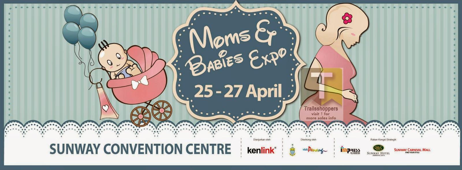 Moms and Babies Expo Penang Malaysia Sunway Carnival