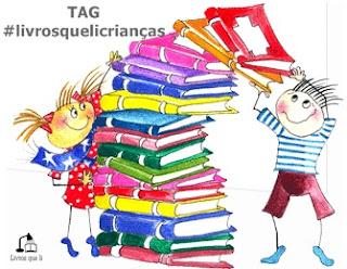 #livrosquelicrianças