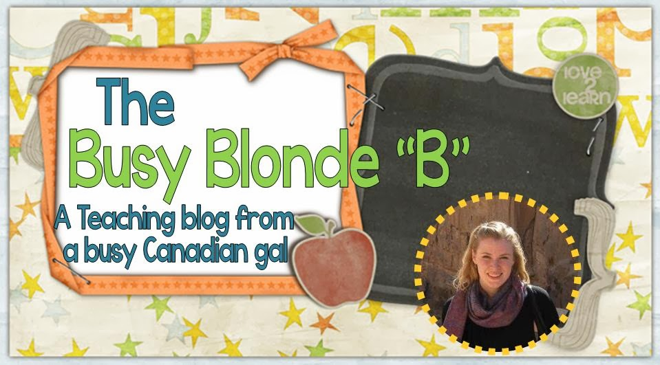 The Busy Blonde B