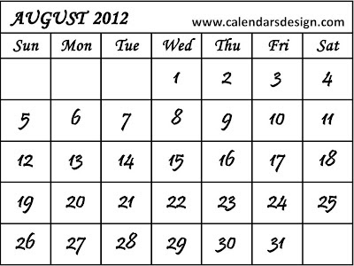 Printable July 2012 Calendar Pdf/page/2 | New Calendar Template Site