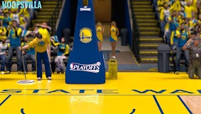 NBA 2k14 Stadium Mod : Playoff Edition - Golden State Warriors - Oracle Arena
