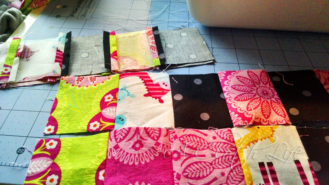 Doll Quilt for Etsy and Fabric Organization: A Cloth Life