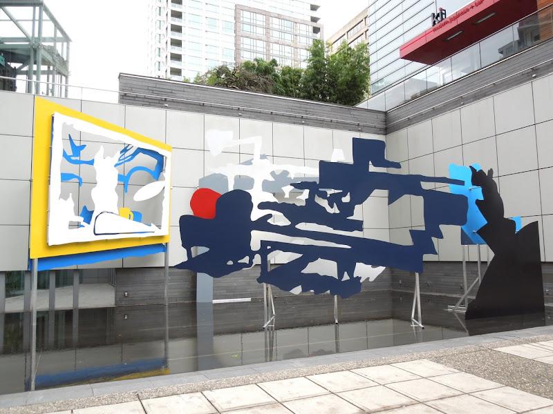 Damian Moppett Offsite art installation Vancouver Nov 2012