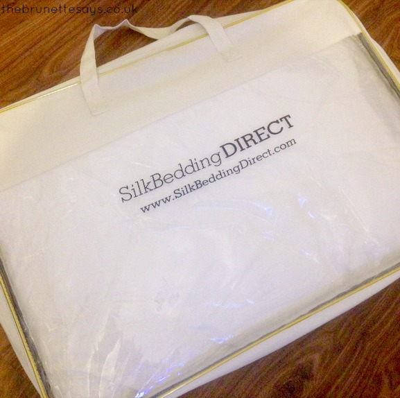 mulberry silk filled pillow, silk bedding direct, review