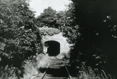 Tunnel through ramparts 1970