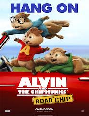 Alvin y las ardillas 4: Aventura sobre ruedas (2015) [Latino]
