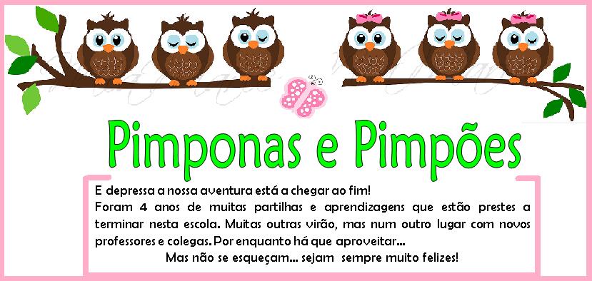 Pimponas e Pimpões