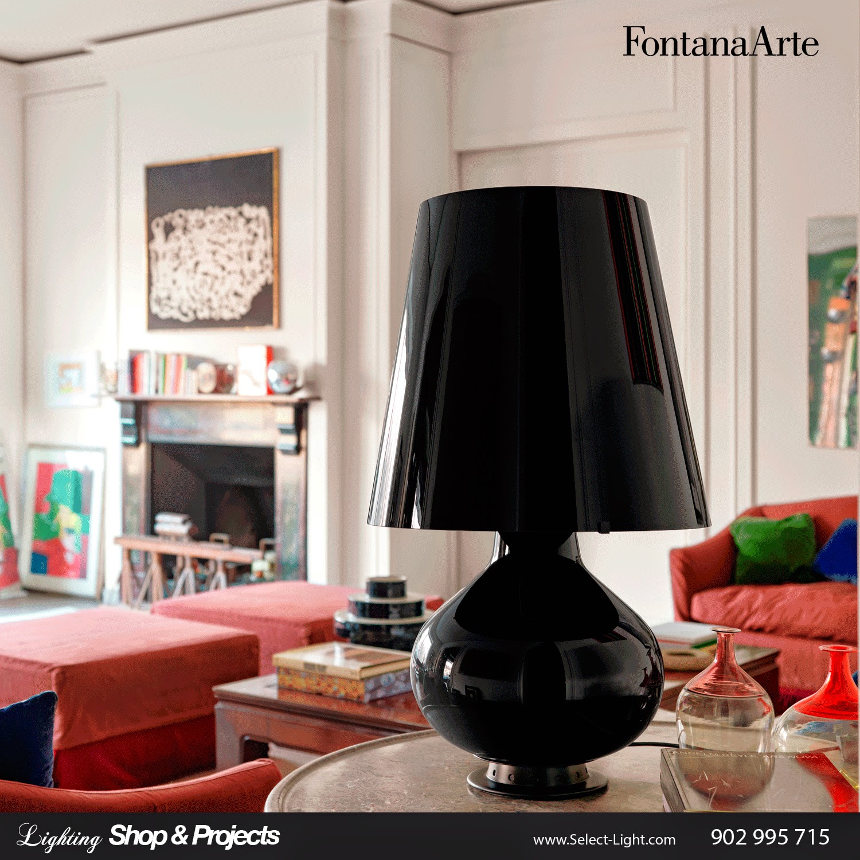 Black Fontana Lamp