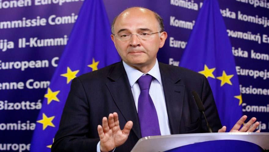 """Τέρμα στις ασυναρτησίες περί Gexit από Π.Μοσκοβισί: """"Εάν γίνει σταματά να υπάρχει το ευρώ - Δεν προβλέπεται νομικά"""""""