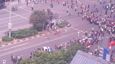 Serangan Teror di Kawasan Sarinah Jakarta