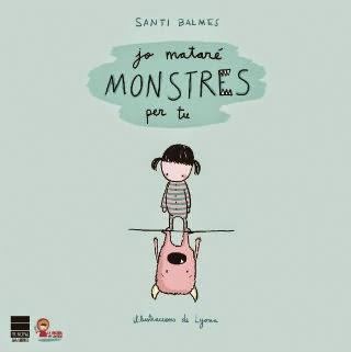 Portada llibre infantil Jo mataré monstres per tu