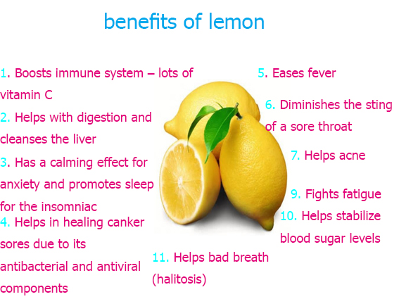 Lemon benefits for weight loss – Protein diet foods list