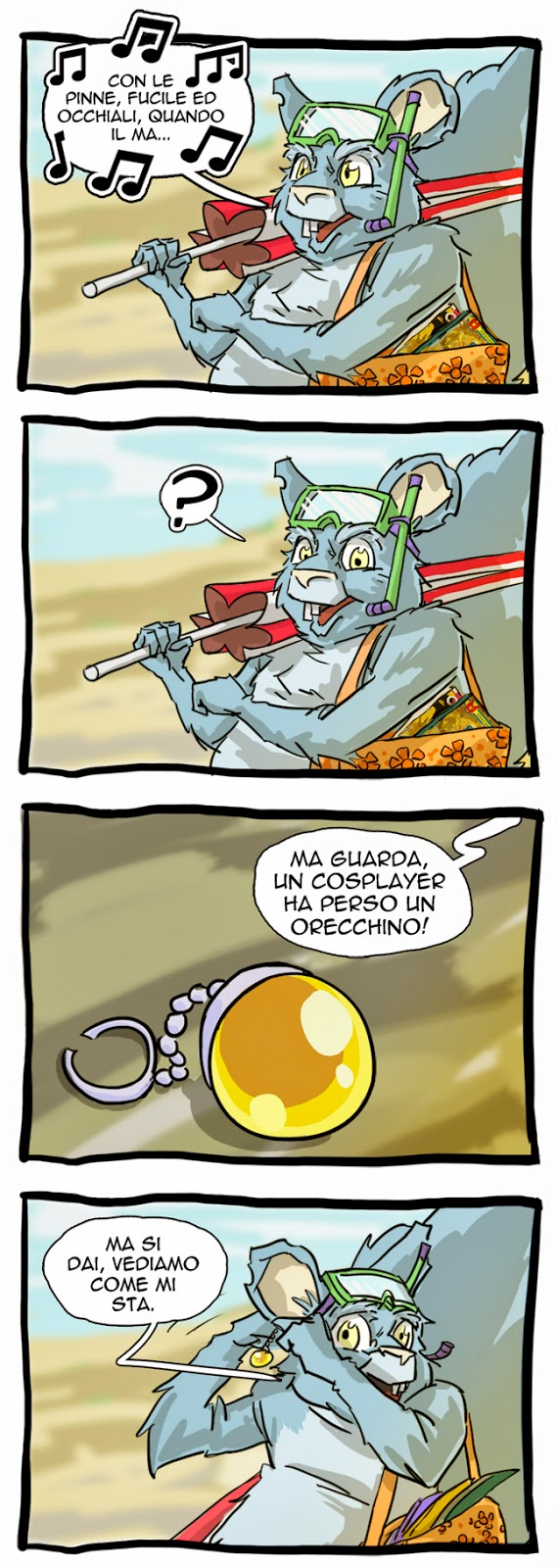 vacanze da fumettista parte 1