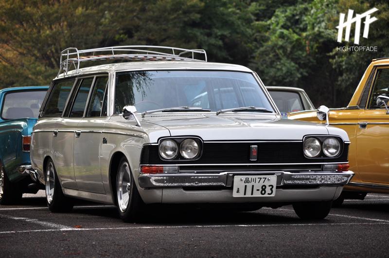 Toyota Crown Wagon S50, klasyczne kombi, fajne, mało znane, japońskie samochody