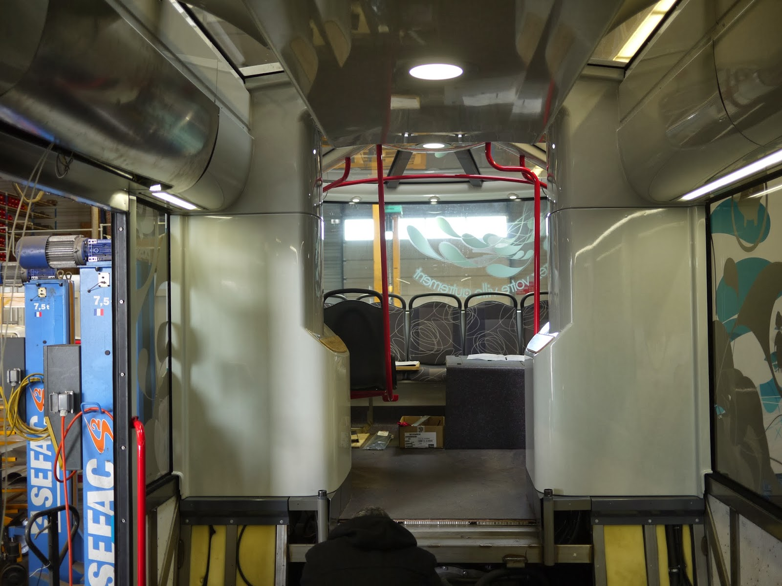 intérieur bus Inova Safra Albi