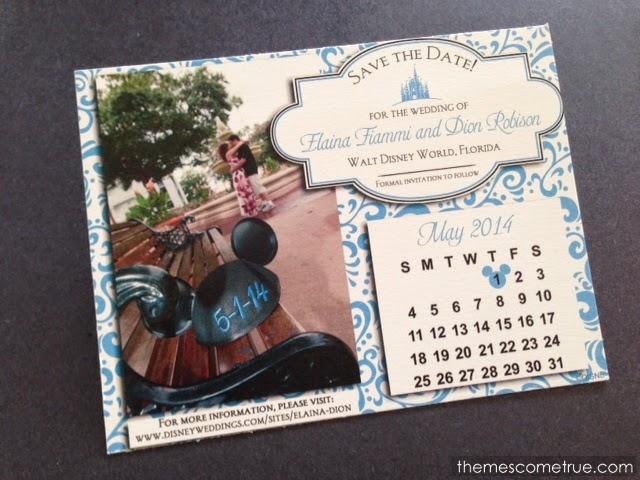 Shelleys Impressions – Disney Wedding Save the Dates