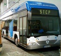 Porto: autocarro da STCP movido a hidrogénio
