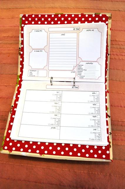 לוח תכנון לבלוג