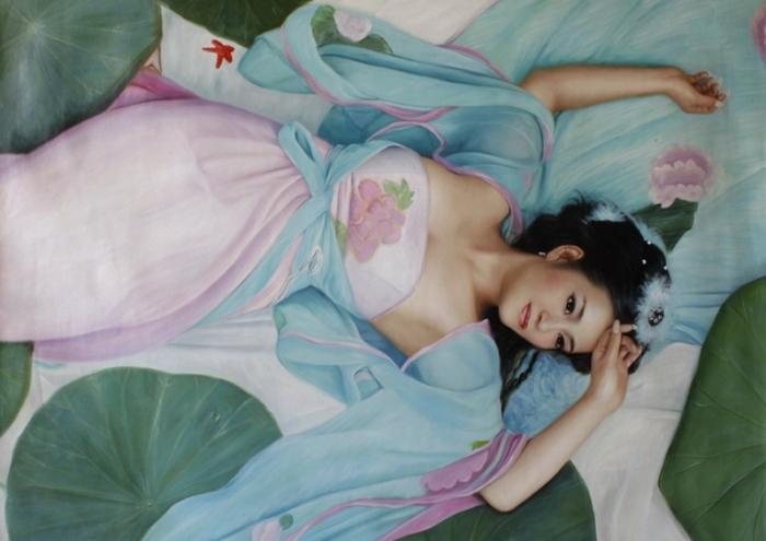 Kiéra Malone   French Figurative painter