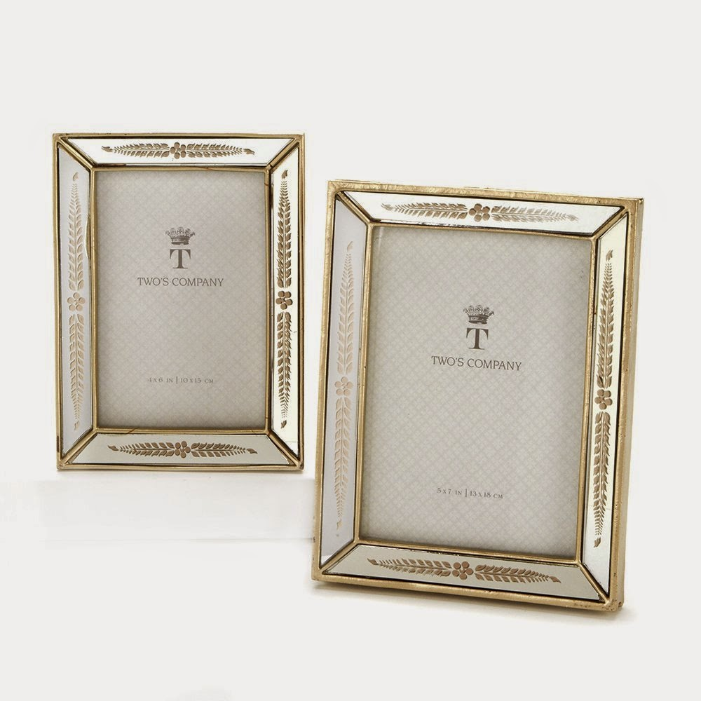 vintage-mirrored-picture-frames