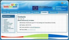 Web de la Xunta de Galicia para enviar quejas por la mala señal de la TDT: