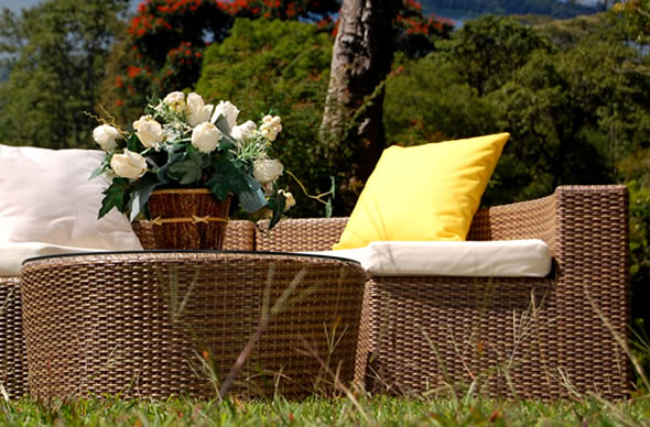 All weather rattan garden furniture furniture for All weather garden furniture