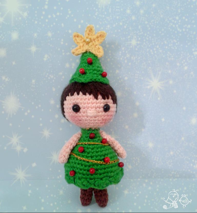 Amigurumi Christmas Tree Patterns : PATRoN aRBOL NAVIDAD AMIGURUMI / CHRISTMAS TREE AMIGURUMI ...