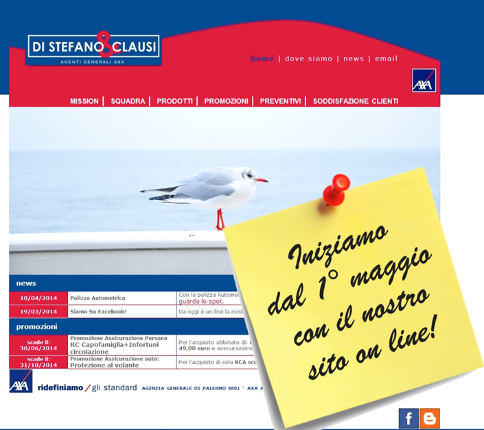 www.distefanoeclausi.it on line
