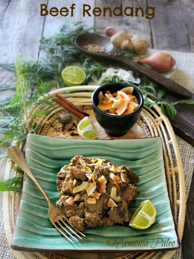 Beef Rendang - Spezzatino di Manzo all'Indonesiana di Armonia Paleo