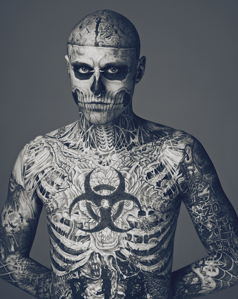Zombie Boy - Model für Thierry Mugler