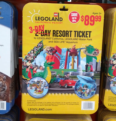 Visit Legoland in San Diego with the Legoland California Resort 3-day Hopper Ticket
