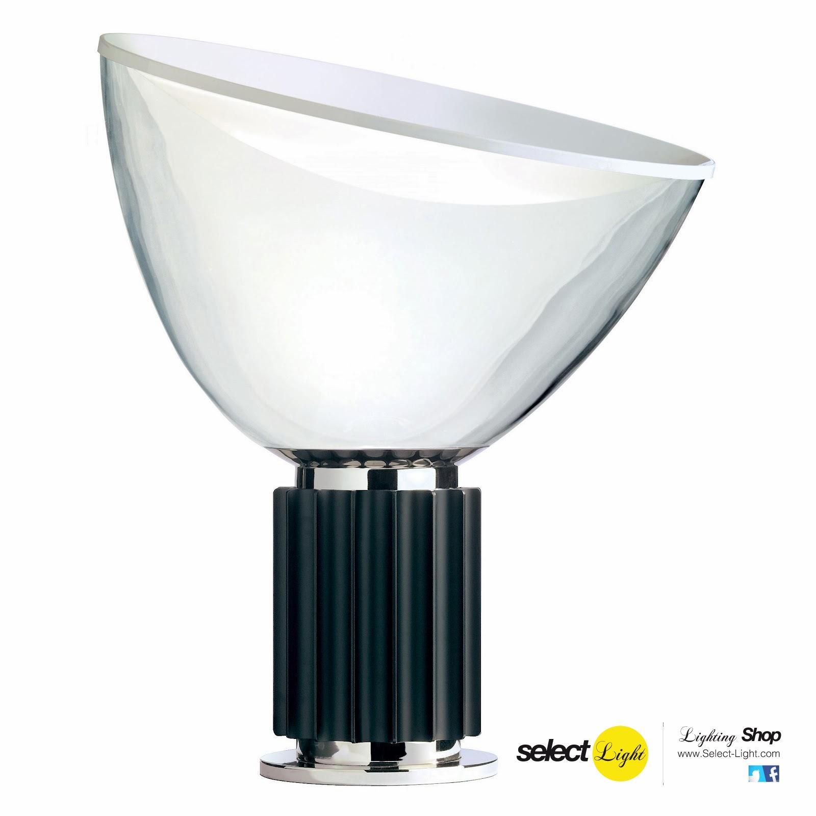 Lámpara Taccia By Castiglioni para Flos